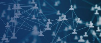 a web of connected people